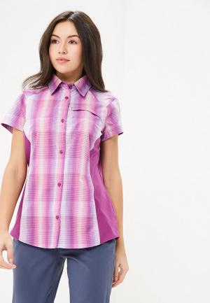 Рубашка Columbia Silver Ridge™ Plaid II Short Sleeve Shir. Цвет: фиолетовый