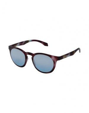 Солнечные очки ALSTECA. Цвет: темно-коричневый