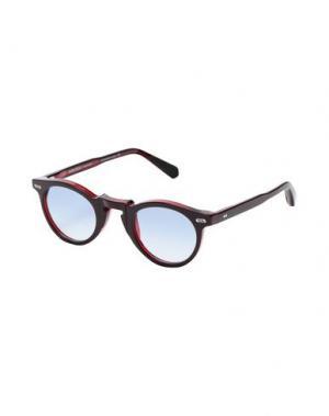 Солнечные очки MOVITRA. Цвет: кирпично-красный