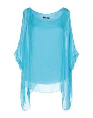 Блузка B.YU. Цвет: лазурный