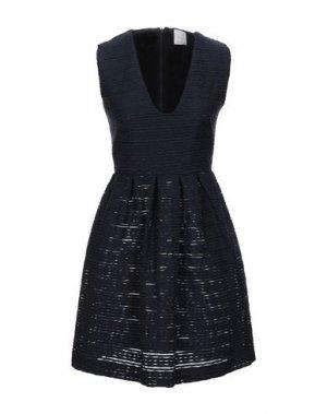 Короткое платье NOLITA. Цвет: темно-синий