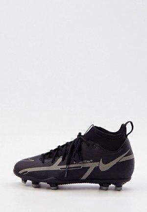 Бутсы Nike JR PHANTOM GT2 CLUB DF FG/MG. Цвет: черный