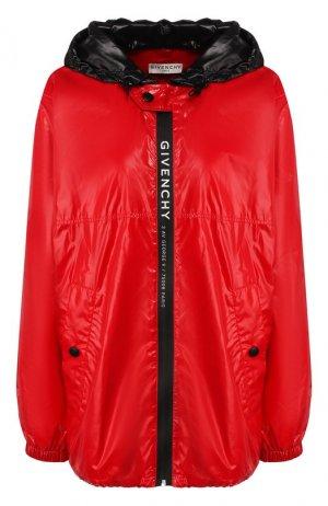 Ветровка Givenchy. Цвет: красный