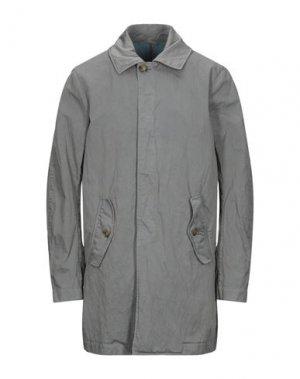 Легкое пальто BARACUTA. Цвет: свинцово-серый