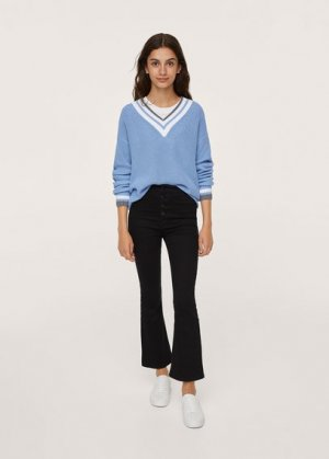 Пуловер из хлопка - Sorrento Mango. Цвет: синий