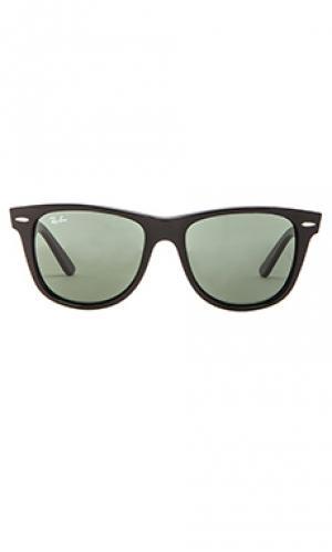 Солнцезащитные очки original wayfarer Ray-Ban. Цвет: черный