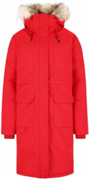 Пальто пуховое женское South Canyon™, размер 42 Columbia. Цвет: красный
