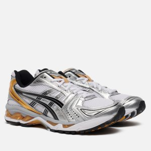 Мужские кроссовки Gel-Kayano 14 ASICS. Цвет: серебряный