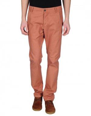 Повседневные брюки COTTONFIELD. Цвет: коричневый