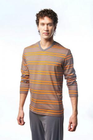 Пижама Lowry. Цвет: оранжевый