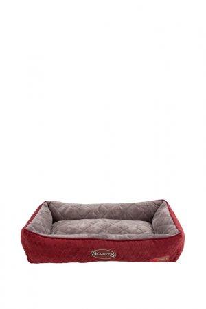 Лежак для кошек SCRUFFS. Цвет: бордовый