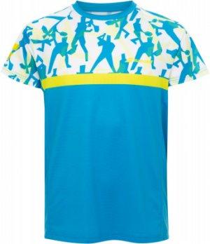 Футболка для мальчиков Compete, размер 152-164 Babolat. Цвет: голубой