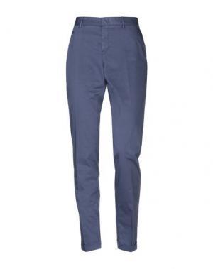 Повседневные брюки PT01. Цвет: темно-синий