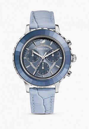 Часы Swarovski® Octea Lux Chrono. Цвет: голубой