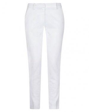 Повседневные брюки EMMA & GAIA. Цвет: белый