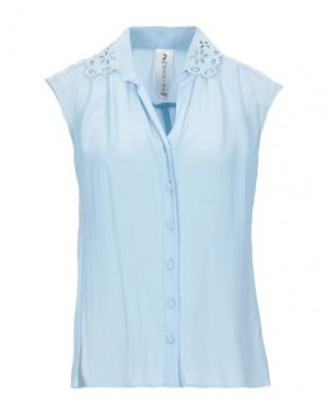 Pубашка 22 MAGGIO by MARIA GRAZIA SEVERI. Цвет: небесно-голубой