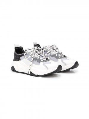 Кроссовки для бега Cinzia Araia Kids. Цвет: белый