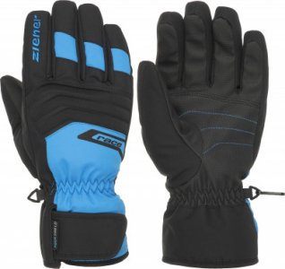 Перчатки мужские Gregg, размер 8,5 Ziener. Цвет: голубой