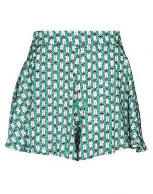 Повседневные шорты MARIUCCIA. Цвет: зеленый