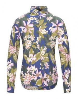Pубашка BRIO. Цвет: ярко-синий