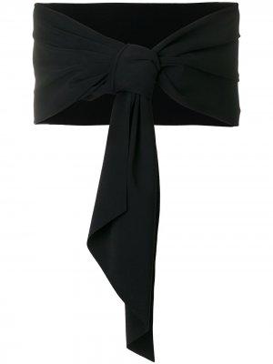 Однотонный палантин Eva Le Petite Robe Di Chiara Boni. Цвет: черный