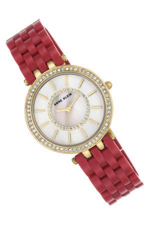 Часы наручные Anne Klein. Цвет: красный, белый