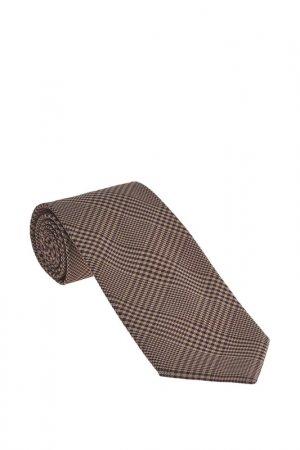 Галстук Basile. Цвет: коричневый, светло-коричневый