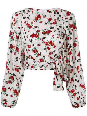 Floral wrap blouse A.L.C.