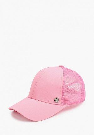 Бейсболка Dispacci. Цвет: розовый