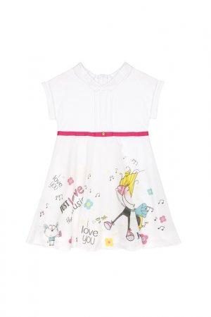 Платье Bell Bimbo. Цвет: белый