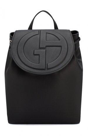 Рюкзак Giorgio Armani. Цвет: чёрный