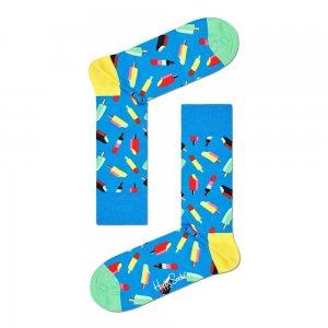 Icecream Socks Happy. Цвет: голубой