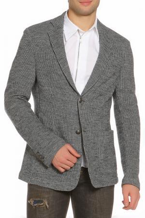 Пиджак Ermanno Scervino. Цвет: серый с синим