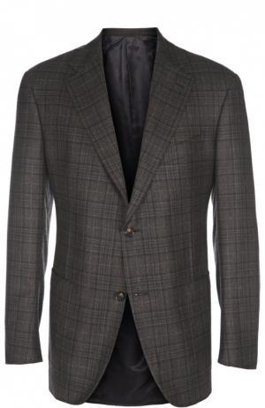 Пиджак Andrea Campagna. Цвет: коричневый