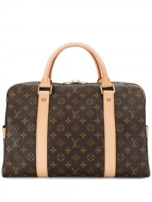 Дорожная сумка 2011-го года Louis Vuitton. Цвет: коричневый
