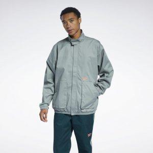 Спортивная куртка Classics Washed Reebok. Цвет: harmony green