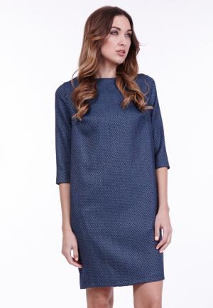 Платье Vladi Collection. Цвет: синий