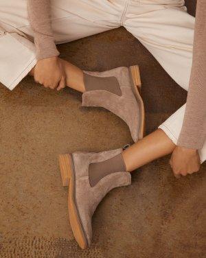 Ботинки челси на каучуковой подошве 12STOREEZ. Цвет: кофейный