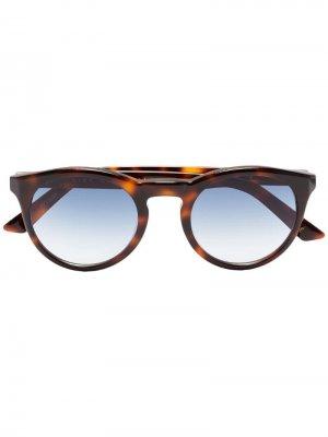 Солнцезащитные очки Watts в черепаховой расцветки Kirk Originals. Цвет: коричневый