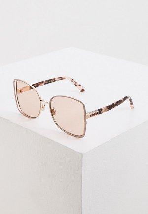 Очки солнцезащитные Jimmy Choo FRIEDA/S FWM. Цвет: розовый