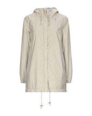 Легкое пальто K-WAY. Цвет: бежевый