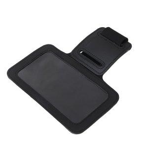 Чехол для сотового телефона на руку luazon, 14x7,5 см, выход наушников, черный Luazon Home