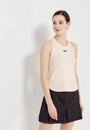 Майка спортивная Nike Womens NikeCourt Dry Slam Tennis Tank. Цвет: розовый