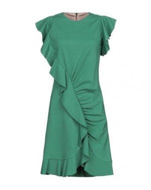 Короткое платье ATOS LOMBARDINI. Цвет: зеленый