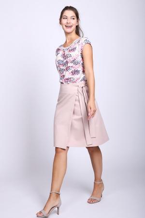 Юбка Luisa Cerano. Цвет: розовый