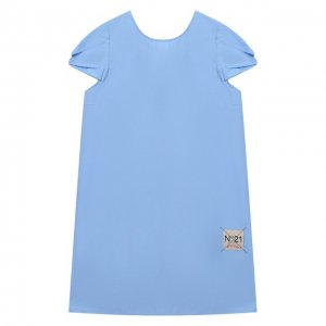 Хлопковое платье No. 21. Цвет: синий