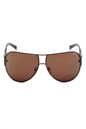 Очки солнцезащитные Police. Цвет: коричневый