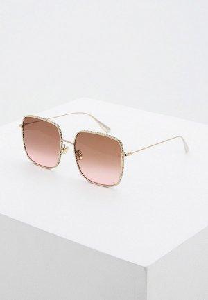 Очки солнцезащитные Christian Dior DIORBYDIOR3F 3YG. Цвет: коричневый