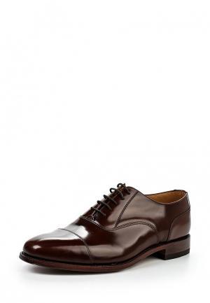 Туфли Loake LO026AMGPJ57. Цвет: коричневый