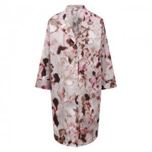 Хлопковая сорочка Zimmerli. Цвет: розовый